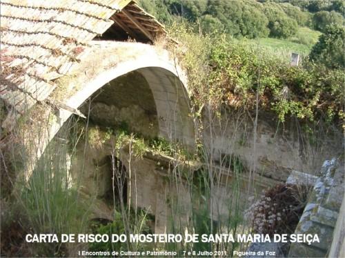 CARTA DE RISCO DO MOSTEIRO DE SANTA MARIA DE SEICA