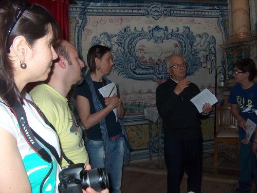 Padre Manuel da Silva na foto de Clube Raizes