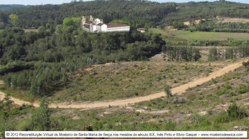 Reconstituição Virtual do Mosteiro de Santa Maria de Seiça nos meados do século XIX_01