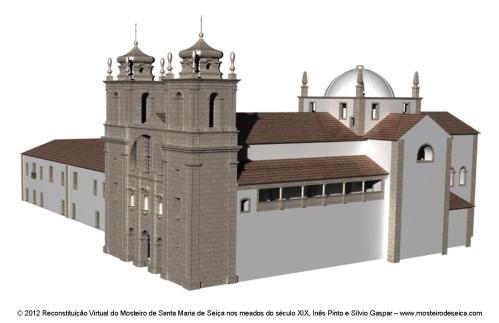 Reconstituição Virtual do Mosteiro de Santa Maria de Seiça nos meados do século XIX_02
