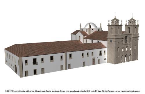 Reconstituição Virtual do Mosteiro de Santa Maria de Seiça nos meados do século XIX_03