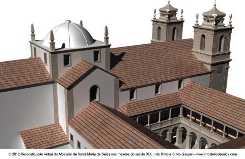 Reconstituição Virtual do Mosteiro de Santa Maria de Seiça nos meados do século XIX_05