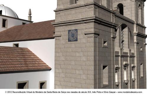 Reconstituição Virtual do Mosteiro de Santa Maria de Seiça nos meados do século XIX_06