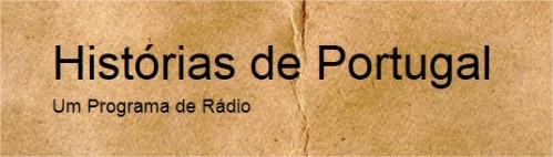 Site Histórias de Portugal