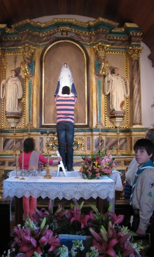 Alqueidao_inaugurou_restauro_Capela_altar_proveniente_do_Mosteiro_de_Seica